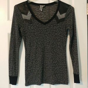 BKE grey blouse/sweater S